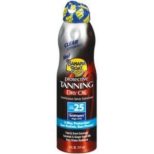 Banana Boat Protective tanning Dry oil SPF 15