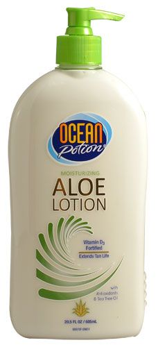 Ocean Potion  aloe lotion