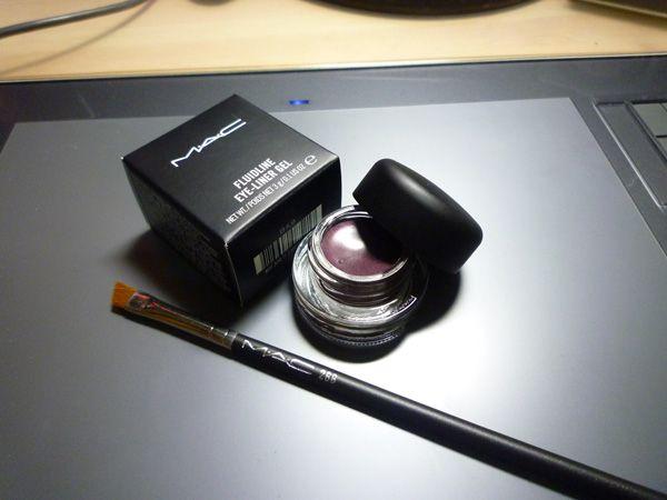 MAC Fluidline Eyeliner Gel Macroviolet