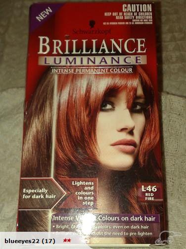 Schwarzkopf Brilliance hair color