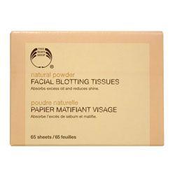 The Body Shop Facial Blotting Tissues