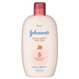 Johnson & Johnson Honey Apple Baby Wash