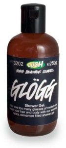 LUSH Glogg Shower Gel