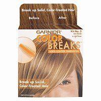 Garnier Color Breaks - light blonde to medium blonde
