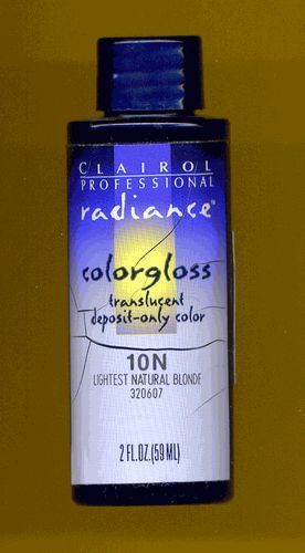 Clairol Radiance Colorgloss translucent deposit only color