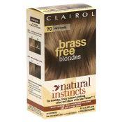 Clairol Brass Free Blondes