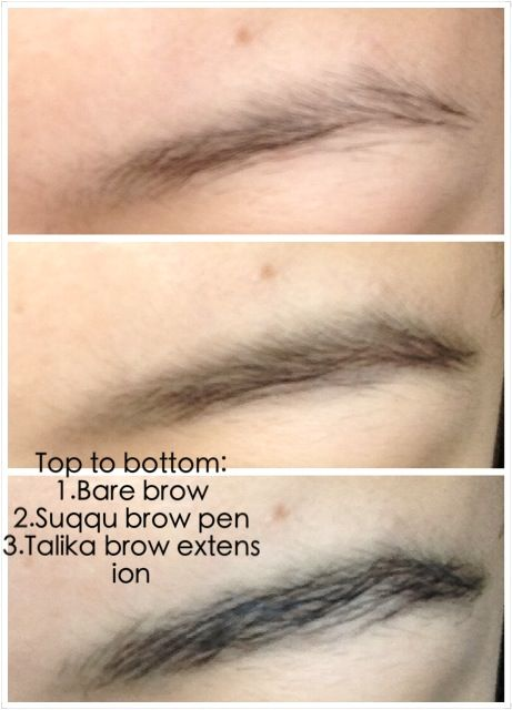 how to fix dried out brow extender fibers
