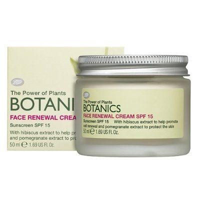 Boots  Botanics Face Renewal Cream SPF 15