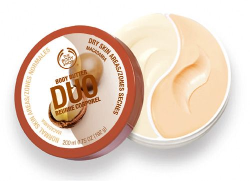 The Body Shop Body Butter Duo in Macadamia