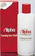 Alpha Hydrox Foaming Face Wash