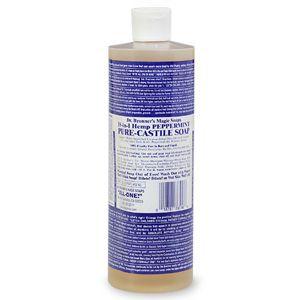 Dr. Bronner's Hemp Peppermint Castille Soap