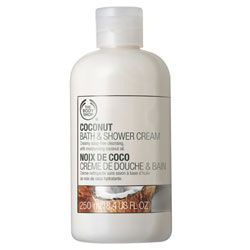 The Body Shop Coconut Bath and Shower Cream