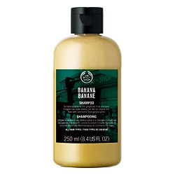 The Body Shop Banana Nourishing Shampoo