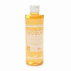 Dr. Bronner's Organic Citrus Orange Liquid Soap
