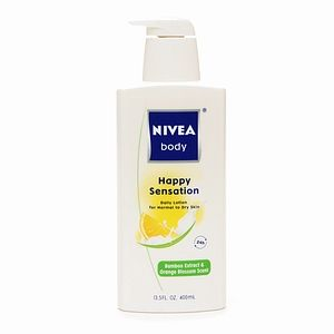 Nivea Happy Sensation w/Bamboo Extract & Orange Blossom Scent