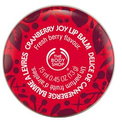 The Body Shop Cranberry Joy Lip Balm