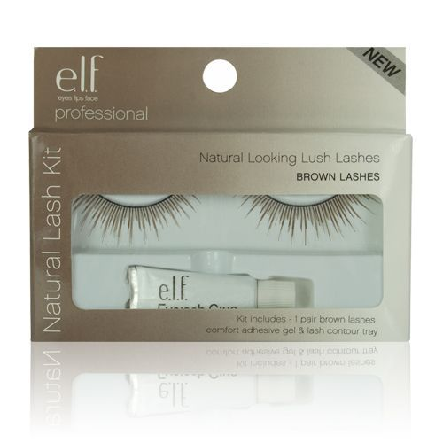 E.L.F. Essential Natural Lash Kit in Brown