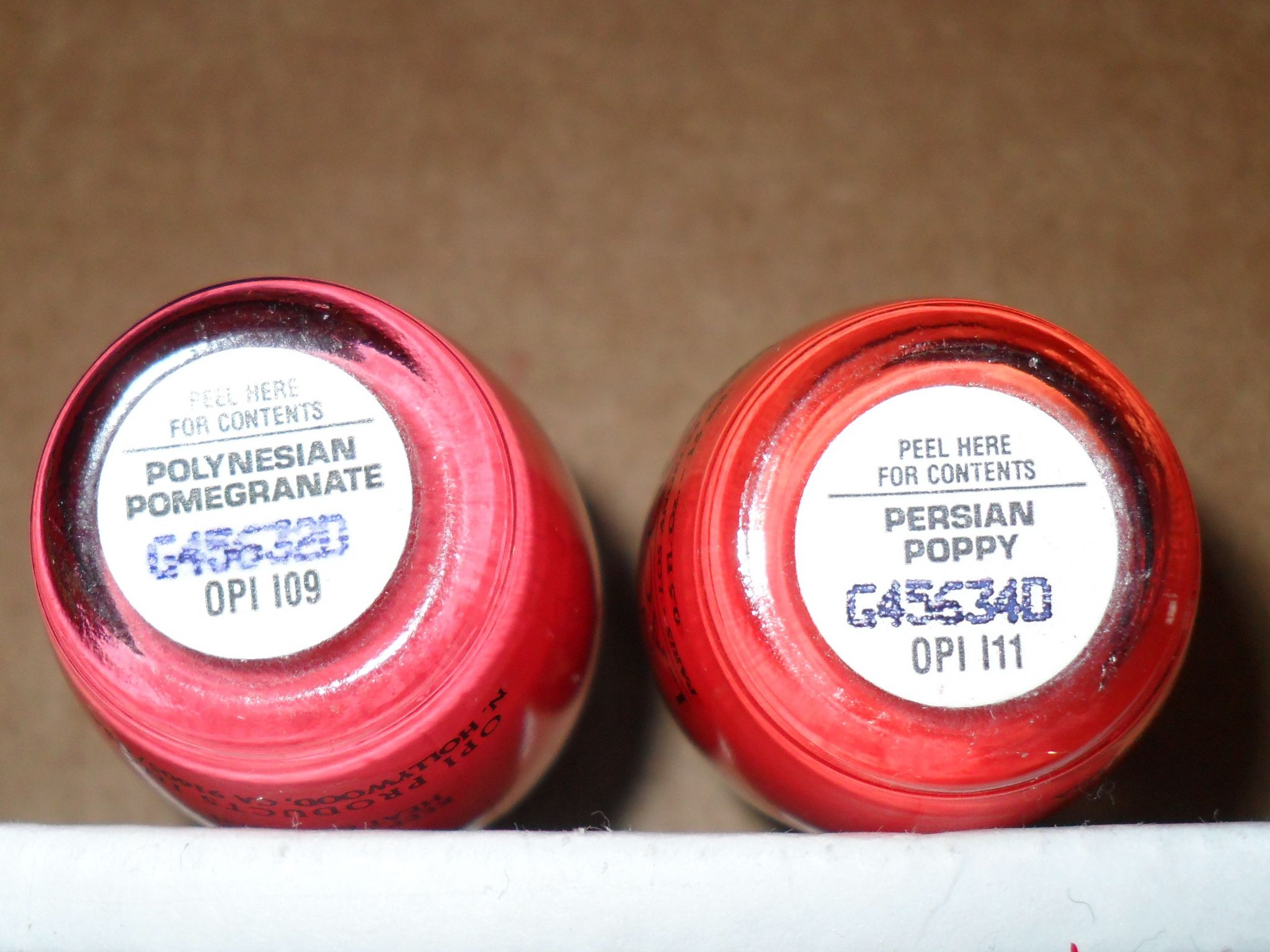 OPI Collections List | The Polish Garden