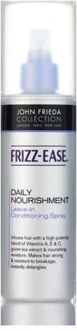 John Frieda Daily Nourishment leave-in fortifying spray