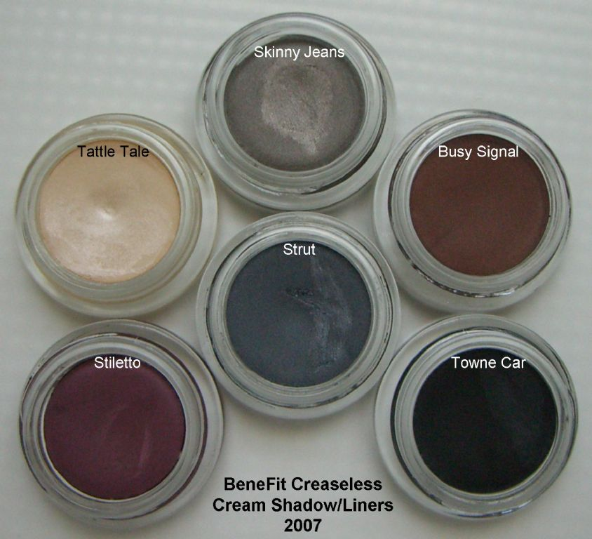 BeneFit Cosmetics Creaseless Cream Shadow/Liner - Tattle Tale