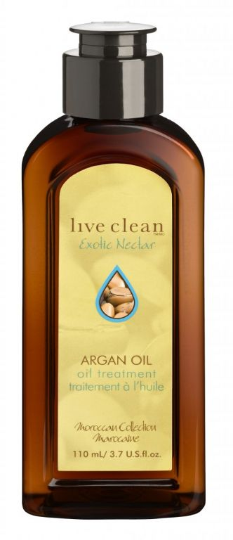 Live Clean Argan Oil