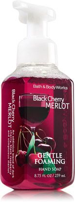 Bath and Body Works Antibacterial Foaming Hand Soap Black Cherry Merlot