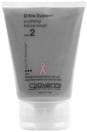 Giovanni D:tox System Purifying Facial Scrub with Charcoal & Volcanic Ash