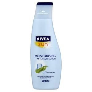 Nivea Moisturising After Sun Lotion With Aloe Vera