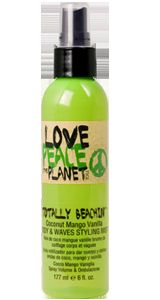 TiGi Peace, Love & the Planet - Totally Beachin  Body & Waves Styling  Mist