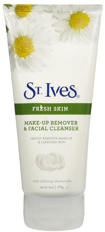 St. Ives Make-up Remover & Facial Cleanser with soothing chamomile