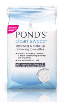 Ponds Clean Sweep Cleansing and Makeup Remover Towelettes