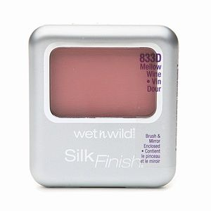 Wet 'n' Wild Silk Finish Blush - Mellow Wine 833D