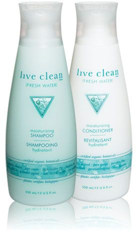 Live Clean (Fresh Water) Moisturizing Shampoo