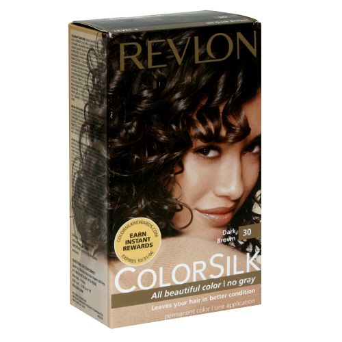 Revlon Colorsilk in Dark Brown