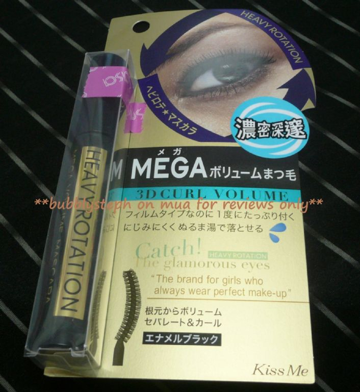 Isehan KissMe Heavy Rotation Mega 3D Curl Volume Mascara