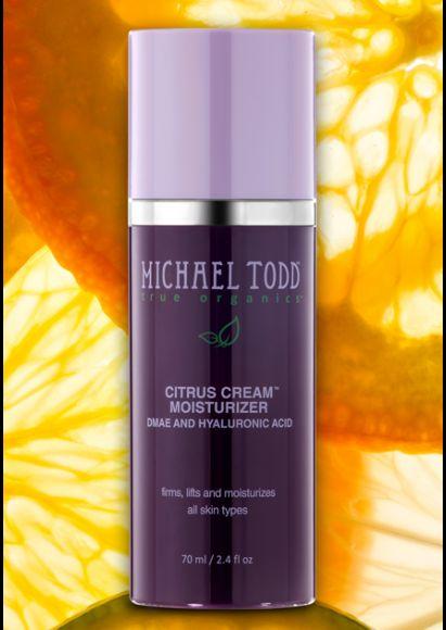 Michael Todd True Organics Citrus Cream Moisturizer