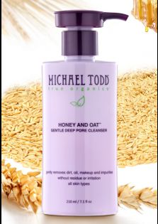 Michael Todd True Organics Honey and Oat Cleanser