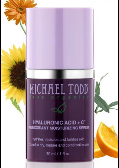 Michael Todd True Organics Hyaluronic + C Antioxidant Moisturizing Serum