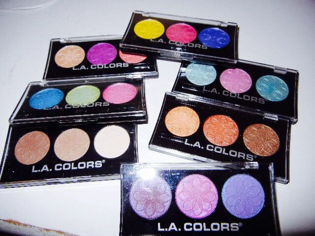 L.A. Colors Trios (All Shades)