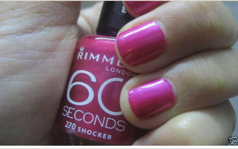 Rimmel 60 Seconds in 270 Shocker