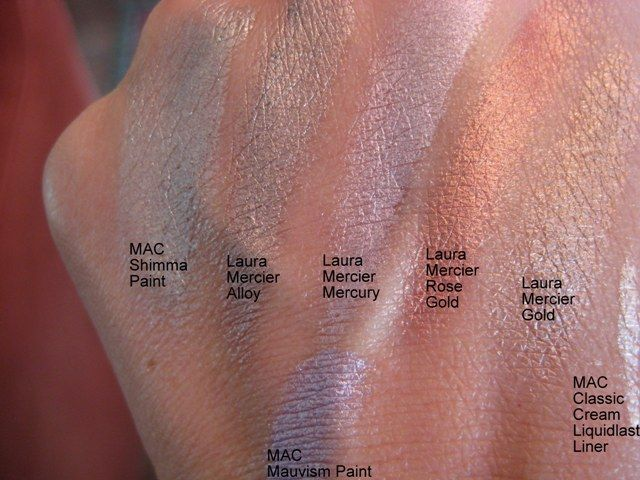 Laura Mercier Metallic Creme Eye Color in Alloy