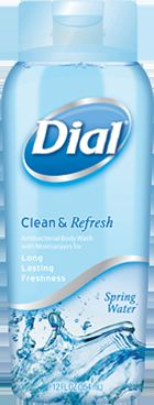 Dial antibacterial body wash-Spring water