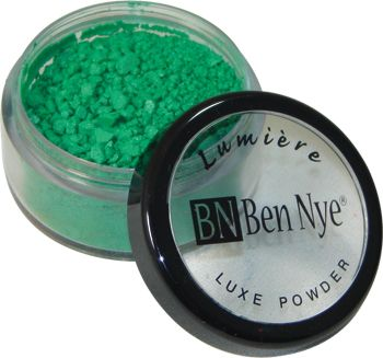 Ben Nye Lumiere Luxe Powder MERMAID GREEN