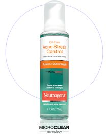 Neutrogena Acne Stress Control Foam Wash