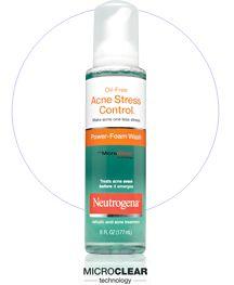 Neutrogena Acne Stress Control Foam Wash reviews, photo, ingredients ...