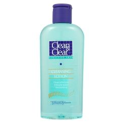 Clean & Clear Deep Cleaning Astringent-Sensitive Skin (blue)