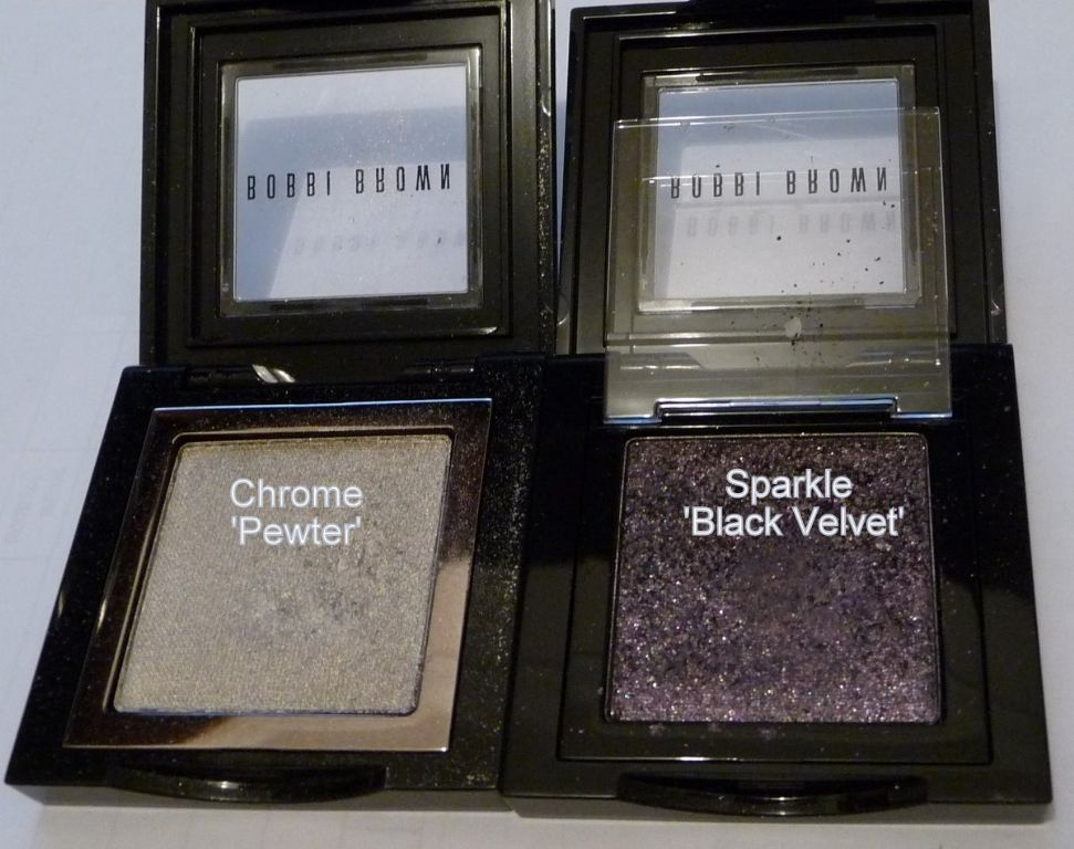 Bobbi Brown Chrome Eyeshadow in Pewter