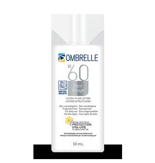 Ombrelle  Ultra Fluid SPF 60 Face