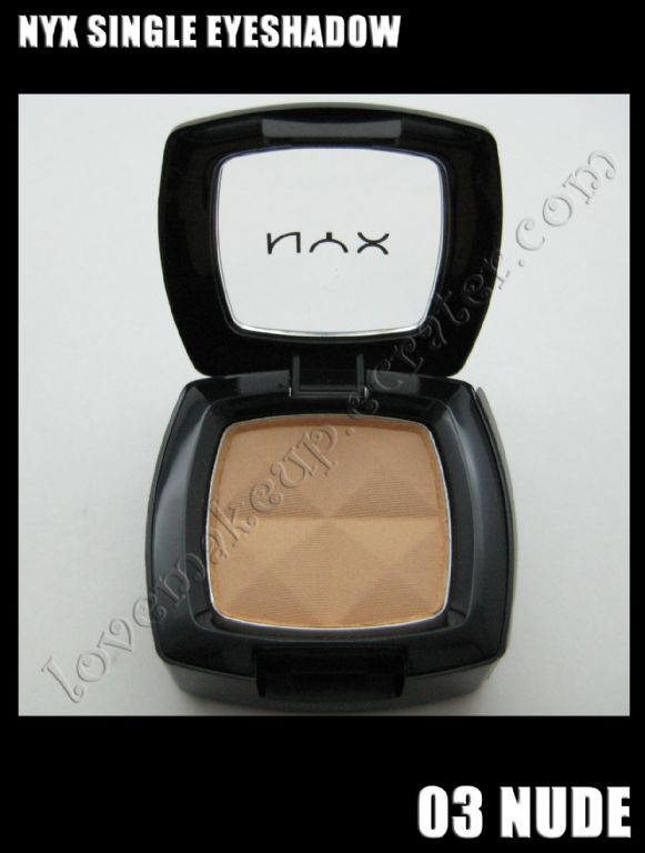 NYX Single Eye Shadow - Nude