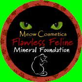 Meow Cosmetics Flawless Feline Mineral Foundation